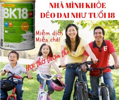 TPBS Sữa Dinh Dưỡng Gia Đình BK18